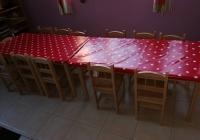 Játszóház asztalok